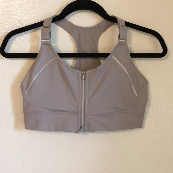 46c3a00480 Small Zip-front Athleta Workout Bra